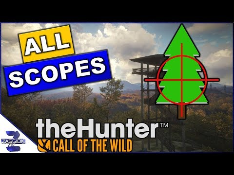 Scopes in Call of the Wild - What is the Best Scope??