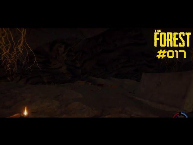Let's Play The Forest | Höhle Part 1 - Erstes Camp aufgeschlagen | Folge #017