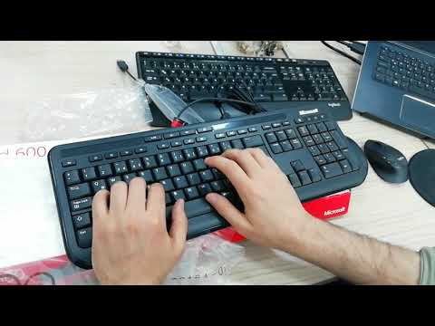 Microsoft Wired Desktop 600 Kablolu Klavye Mouse Set İnceleme