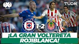 Partidazo! Chivas logra la voltereta en 5 minutos | CruzAzul 1-2 Chivas - CL2015 | TUDN