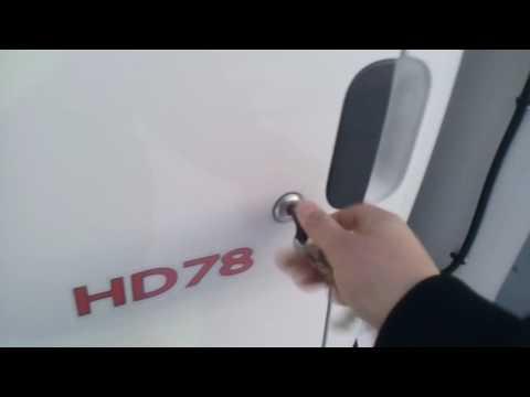30 Запускаем дизель Hyundai HD78.