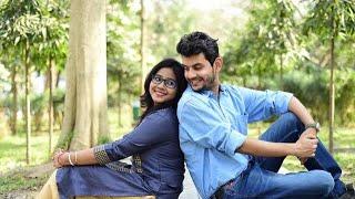 Anindya Chakraborty aka DJ Bapon with his wife Ankita Roy Barman