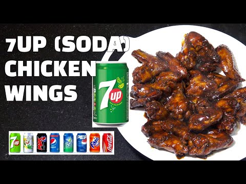 7UP Chicken Wings - Sweet Sticky Chicken - Sprite Coke Pepsi - Chicken Wings Youtube
