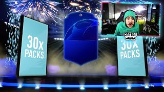 30 x 81+ CHAMPIONS LEAGUE PACKS!! OUR BEST YET!! FIFA 19