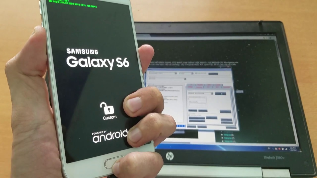 remove Samsung account/Reactivation Samsung Galaxy S6 Android Nougat 7 0