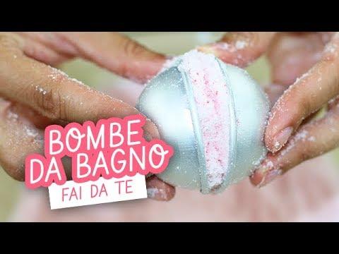 Bombe da bagno fai da te facilissime diy easy bath bomb youtube