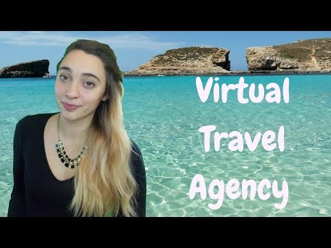 ASMR Virtual Travel Agency Roleplay | Unintellegible
