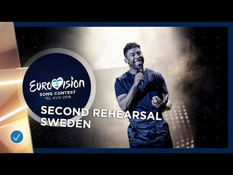 Sweden 🇸🇪 - John Lundvik - Too Late For Love - Exclusive Rehearsal Clip