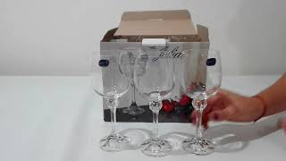 Бокалы для вина Bohemia Julia 230 мл-6шт - обзор