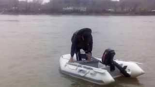 Лодка надувная Jilong Z-RAY I 300 sport длина 270, мотор ZONGSHEN-SELVA T5 BMS, 5-ч1