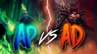 AD vs AP | QUIEN GANA?! | DIRECTO TEMATICO #APvsAD