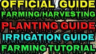 ARK: Survival Evolved - Official Farming Guide | Complete Farming | Planting | Irrigation Tutorial