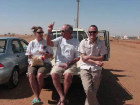 Trip to the pyramids at Meroe, Sudan