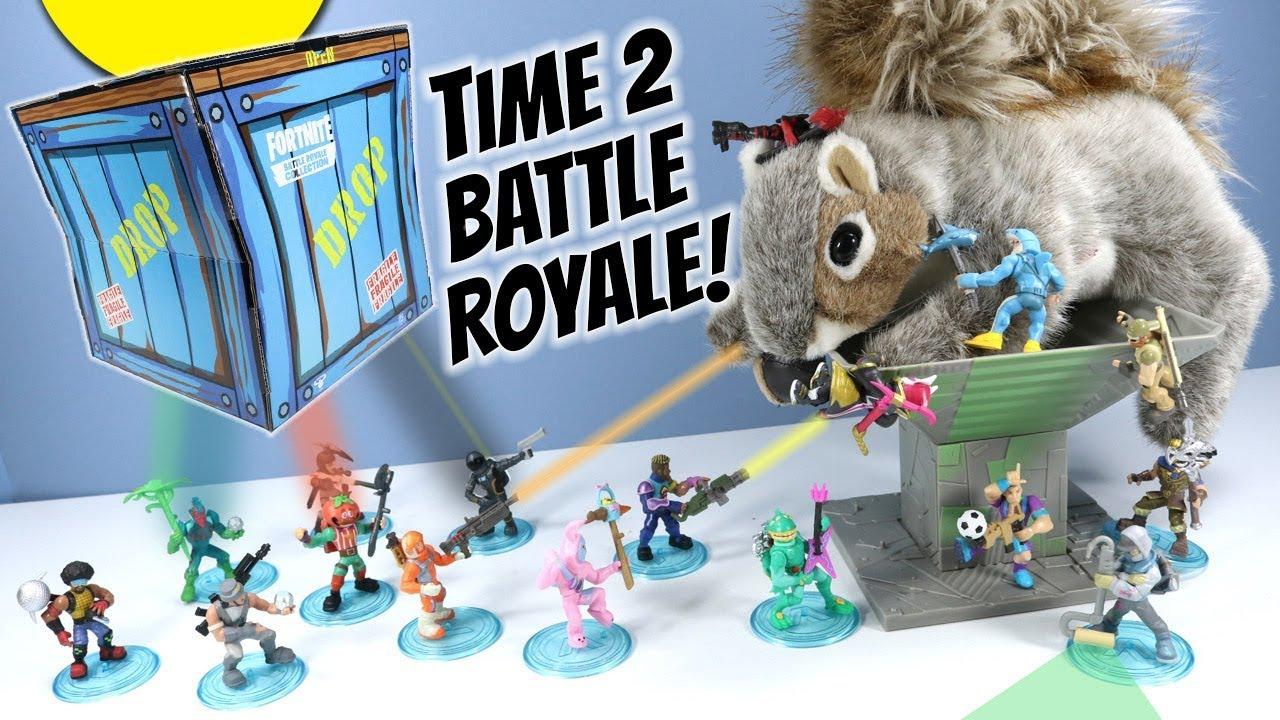 Fortnite Toys Battle Royale Collection Mini Action Figures Wave 2 Moose