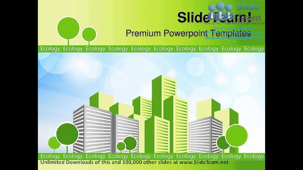 green city environment powerpoint templates themes and