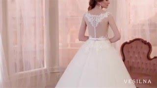 Свадебное платье 2016 года от VESILNA™ модель 3058