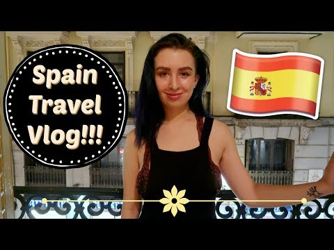 Spain Travel Vlog! Big Gay Vacation with my Best Friend!!!