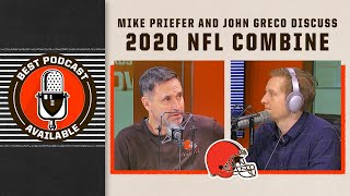 Mike Priefer and Former Brown John Greco on Combine | Best Podcast Available