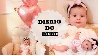Diário do Bebe! #2 Meses da Princesa Esther
