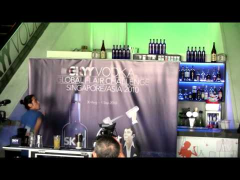 SKYY Vodka Global Flair Challenge 2010 SEA Finals - Malaysia 2