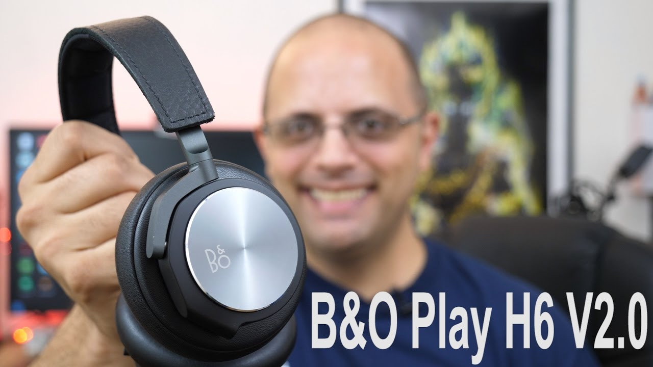 Afholte Bang & Olufsen (B&O Play) H6 V2.0 Review Just Amazing!!! #verizon OY-84
