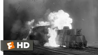 The Train (2/10) Movie CLIP - Allied Bombing Raid (1964) HD