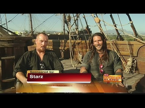 Black Sails  Toby Stephens and Zach McGowan