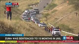 Zuma Sentence | Supporters gather in Nkandla