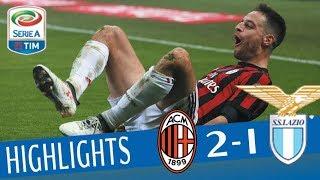 Milan - Lazio 2-1 - Highlights - Giornata 22 - Serie A TIM 2017/18