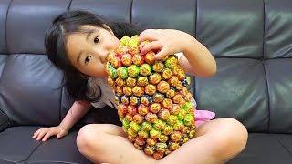 بولام تعلم الألوان مع الحلويات