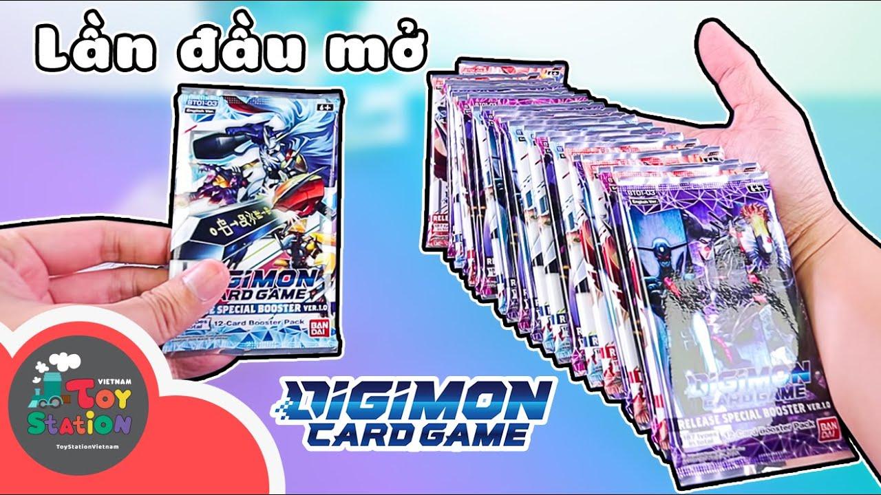 Anhktay lần đầu mở thẻ Digimon Card Game và thành quả bất ngờ ToyStation 597