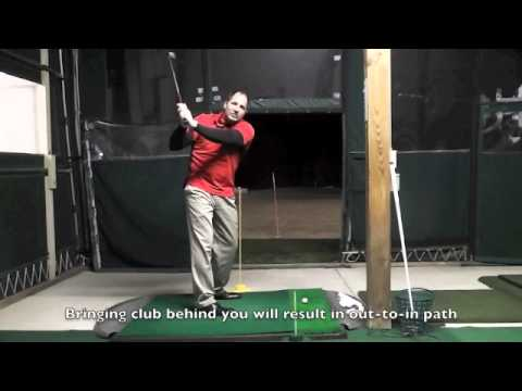 Developing an In-to-Out Swing Path