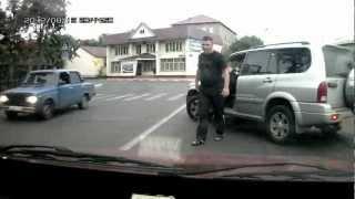 Осторожно! быдло на дороге. м100ск 90 рус