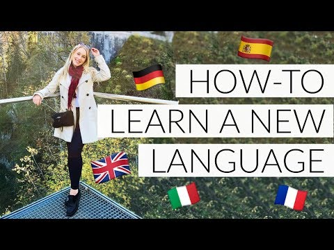 HOW TO LEARN A NEW LANGUAGE!