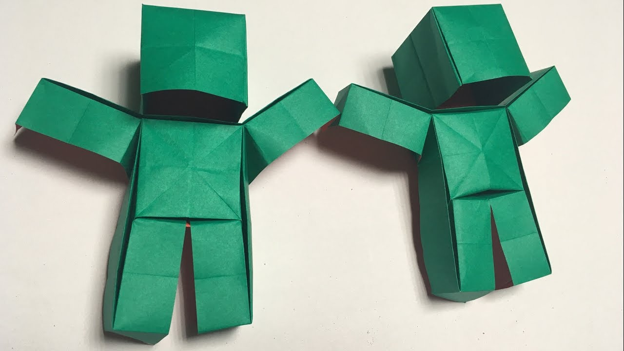 Minecraft Origami Tutorial