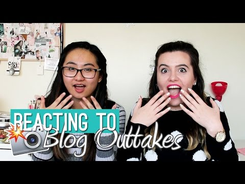 REACTING TO BLOG OUTTAKES (ft. MAK STYLE)
