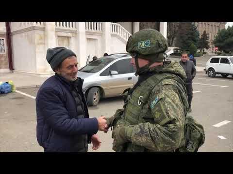 Возвращение беженцев в Нагорный Карабах (20.11.2020)