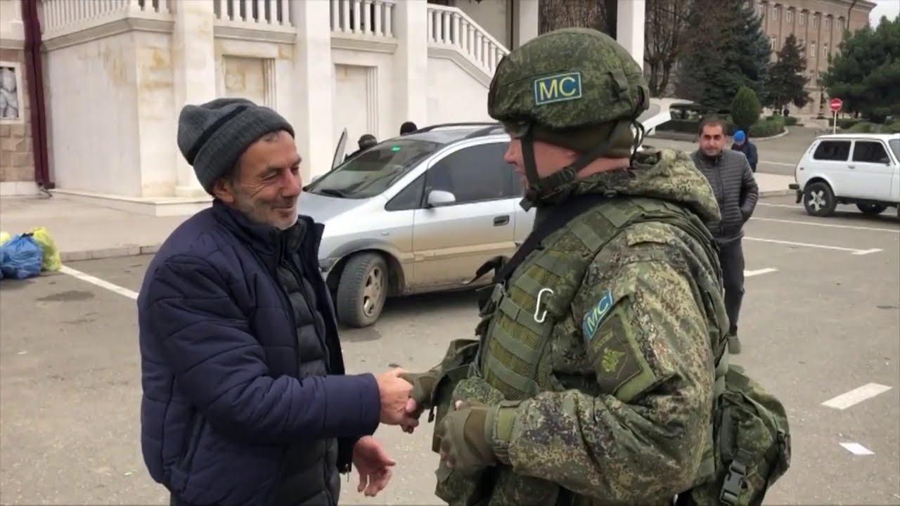 Возвращение беженцев в Нагорный Карабах (20.11.2020) MyTub.uz