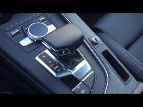 2017 Audi A4: Shifter Overview
