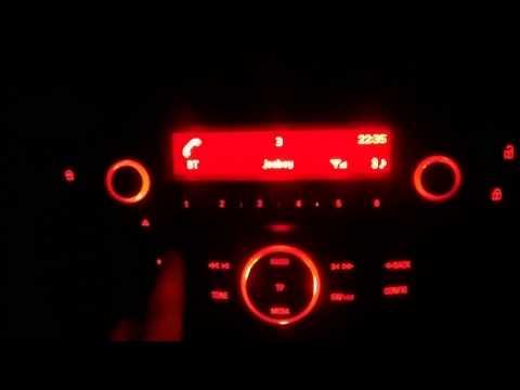 Corsa E Sting 2015 CD30 BT , Bluetooth CD player.