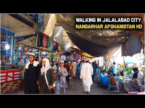 Walking in Jalalabad City | Afghanistan | 2020 | HD 1080/60
