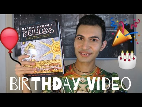 Birthday Video | 1 Year On YouTube
