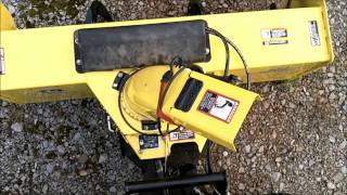 JD 54 Snow Blower with Chute rotation Modification HD.wmv