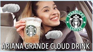 Trying The New Ariana Grande Cloud Macchiato Starbucks Drink ☁️☕️