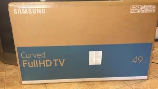 Samsung 6-Series 123cm 49 inch Full HD Curved LED Smart TV UE 49K6300 AW Review