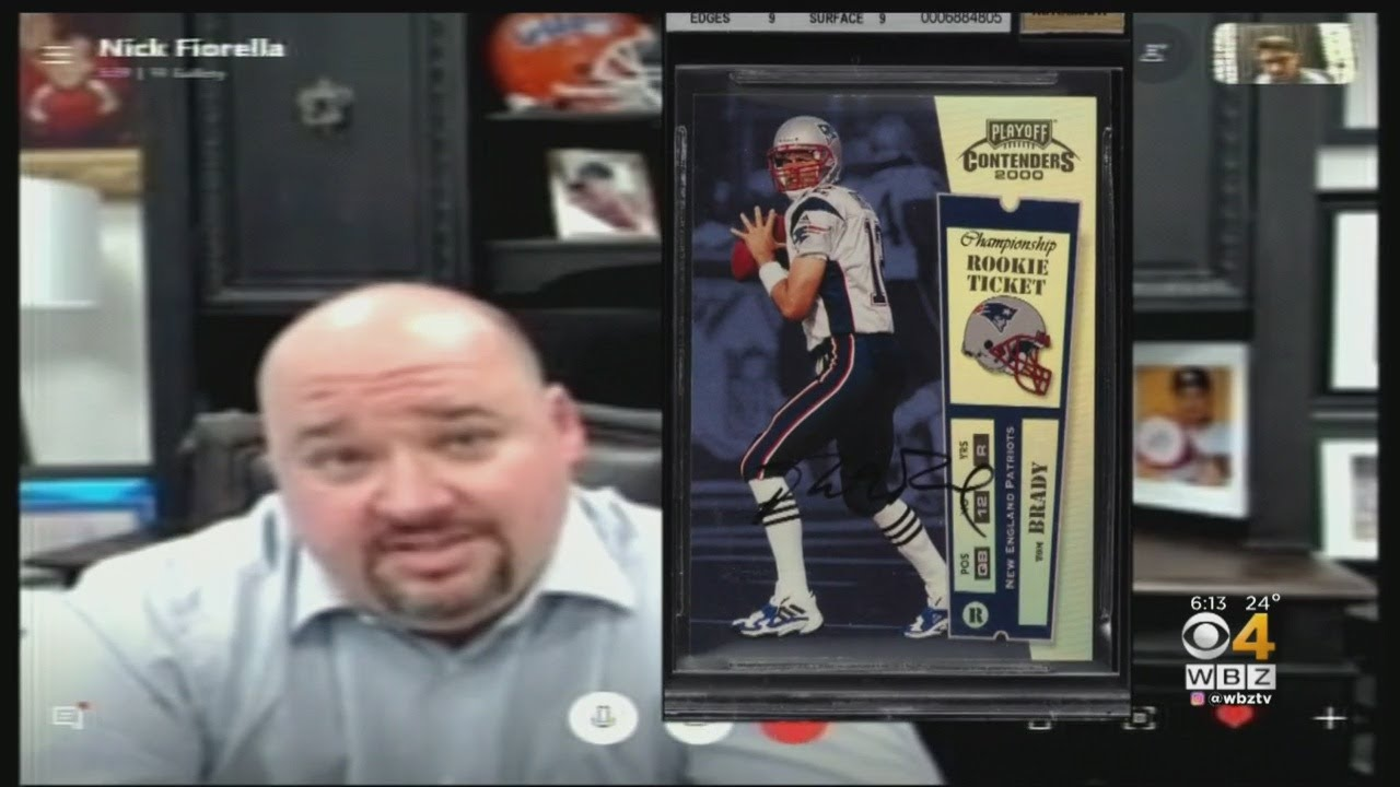 Really Smart Investment Florida Man Pays 400k For Tom Brady Card