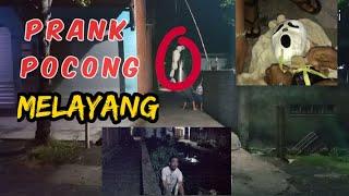 Prank Pocong Melayang Pak Ustad  Malah Ngeluarin Ilmu, Auto Kocak