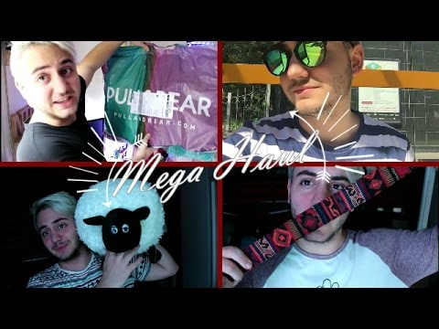 MEGA HAUL | PULL AND BEAR, ALIEXPREES, AMAZON, IPHONE | Nil Cebrián