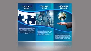 Brochure Design in CorelDraw TUTORIAL Part 1