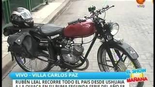 Desde Ushuaia a La Quiaca en una moto Puma del 58 07 01 2016